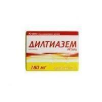 Дилтиазем ланнахер таблетки ретард 180 мг, 30 шт.