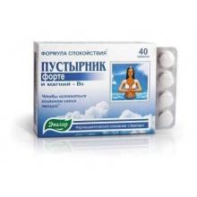 Пустырник форте таблетки 500 мг, 40 шт.
