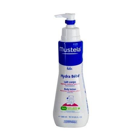 MUSTELA Bebe Hydra-Bebe крем для детей для тела увлажняющий, 300 мл