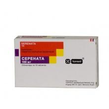 Серената таблетки 100 мг, 30 шт.