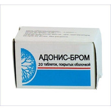 Адонис-бром таблетки, 20 шт.
