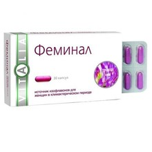 Феминал капсулы 160 мг, 30 шт.