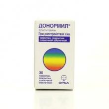 Донормил таблетки 15 мг, 30 шт.