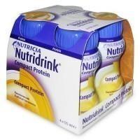 Смесь питательная НУТРИДРИНК Compact Protein банан для энтерального питания 125 мл, 4 шт.