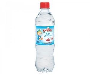 Вода питьевая СПЕЛЕНОК 0,5л