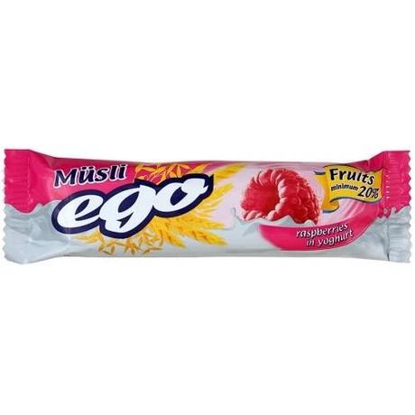 Батончики мюсли EGO малиновое желе в йогурте 25 г