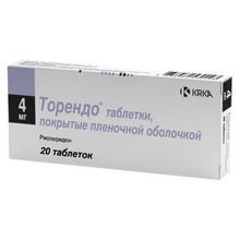 Торендо таблетки 4 мг, 20 шт.