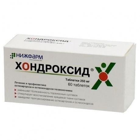 Хондроксид таблетки 250мг, 60шт