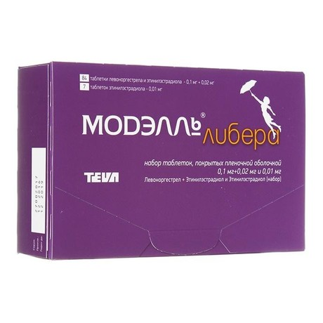 Модэлль Либера таблетки  (набор), 91 шт.