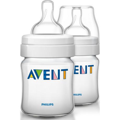 Бутылочка детская AVENT для кормления медленный поток антиколиковая 125 мл (арт. 560/17)