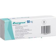 Зонегран капсулы 50 мг, 28 шт.