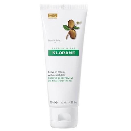 Крем KLORANE с маслом финика питатательный дневной для сухих, ломких и поврежденных волос 125 мл