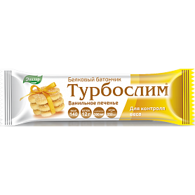 Турбослим Диетический батончик 50 г (ванильное печенье)