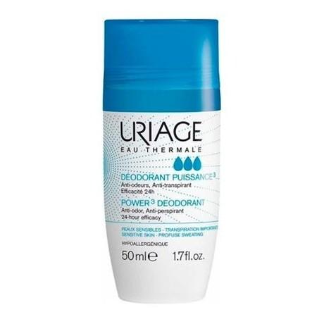 Uriage DEODORANT Tri-Actif дезодорант тройного действия 50 мл, 2 шт.