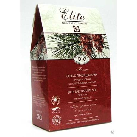 Соль для ванн с пеной ELITE пихта 500 гтт