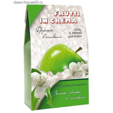 Соль для ванн с пеной FRUTTI IN CREMA Яблоко в сливках 500 г
