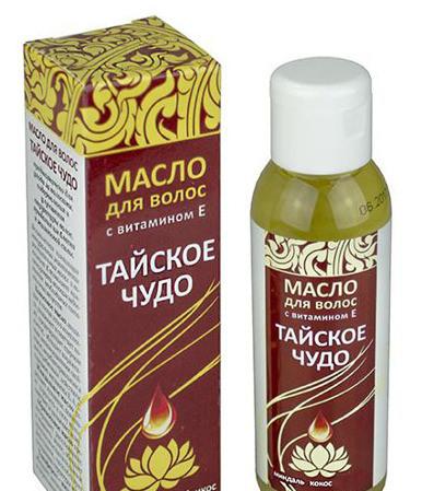 Масло косметическое ТАЙСКОЕ ЧУДО для волос 100мл