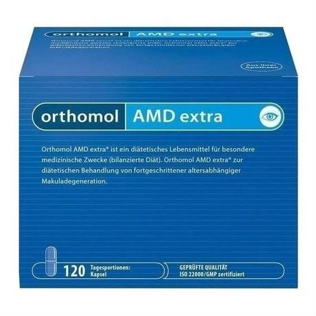 Ортомоль АМД Экстра капсулы 540мг, 120 шт.