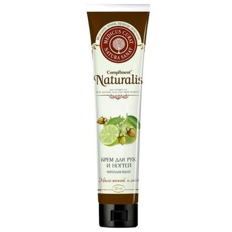 Крем COMPLIMENT Naturalis для рук Укрепляющий масло Жожоба и Лайм 125 мл