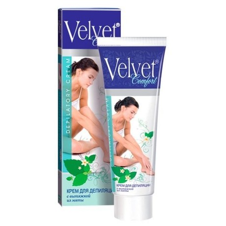 Крем для депиляции velvet применение