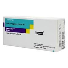 Ламитор таблетки 50 мг, 30 шт.