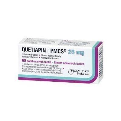 Кветиапин таблетки 25мг, 60 шт. (30 х 2)
