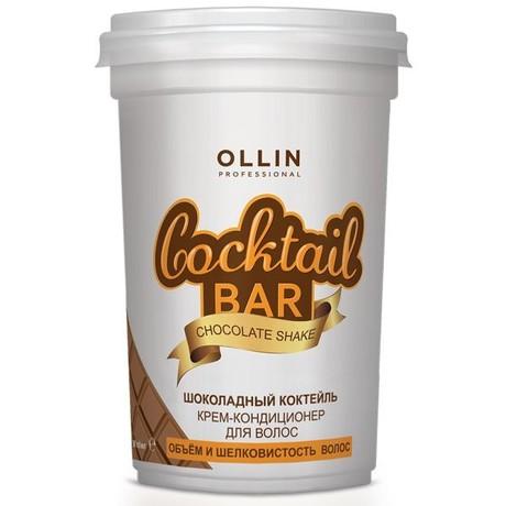 """Coctail BAR OLLIN Крем-кондиционер для волос """"Шоколадный коктейль"""" обьем и шелковистость 500мл"""