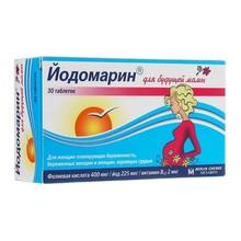 Йодомарин для будущей мамы таблетки 140мг, 30 шт.