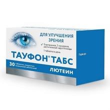 Тауфон Табс Лютеин таблетки, покрытые пленочной оболочкой, 30 шт.  (бан.)