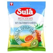 """Зула (""""Sula"""") леденцы для диабетиков 60г (мультивитамин)"""
