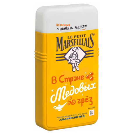 LE PETIT MARSEILIAIS (Маленький марселец) гель для душа Альпийский мед 250мл