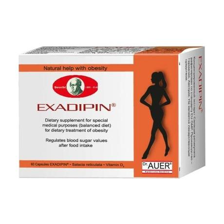 Экзадипин капсулы, 60 шт. (3 + 1)