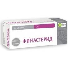 Финастерид таблетки 5 мг, 30 шт.