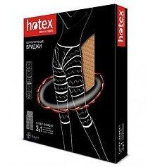 """Бриджи HOTEX """"3 в 1"""" для похудения удлиненные размер универсальный (черн.)"""