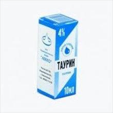 Таурин фл.-кап.(капли глазн.) 4% 10мл
