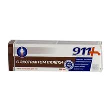 911 Экстракт пиявки гель-бальзам для ног 100мл