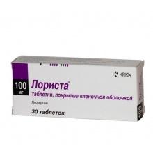 Лориста таблетки 100 мг, 30 шт.