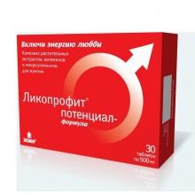 Ликопрофит потенциал-формула капсулы 400 мг, 30 шт.