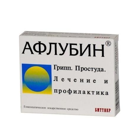 Афлубин таблетки, 24 шт.