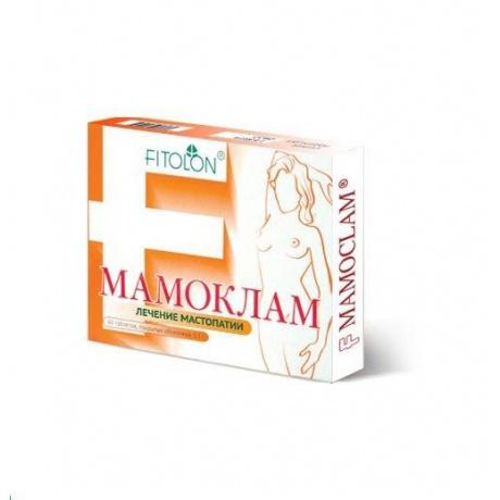 Мамоклам таблетки 100 мг, 40 шт.