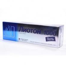 Лиотон 1000 гель 100000ЕД/100г 100г