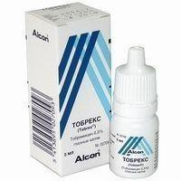 Тобрекс 2Х флакон-капли для глаз 0,3%, 5 мл