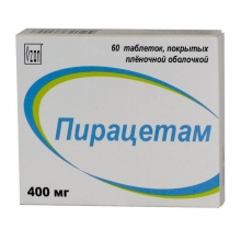 Пирацетам таблетки 400 мг, 60 шт.