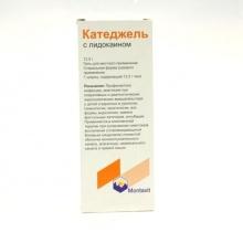 Катеджель с лидокаином гель наружный 12,5г
