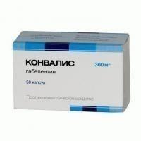 Конвалис капсулы 300 мг, 50 шт.