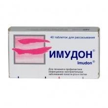 Имудон таблетки для рассасывания №40