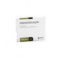 Левофлоксацин таблетки 500 мг, 10 шт.