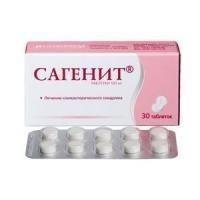 Сагенит таблетки 100 мг, 30 шт.