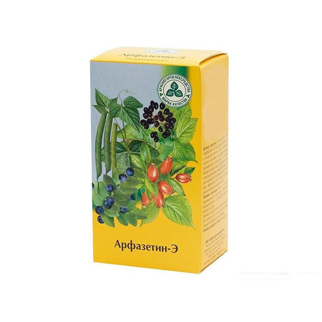 Сбор арфазетин: состав и инструкция по применению чая арфазетин.