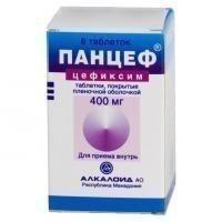 Панцеф таблетки 400 мг, 6 шт.
